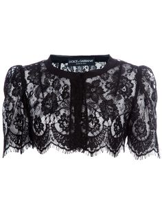 Sweet little lace capelet by Dolce&Gabbana