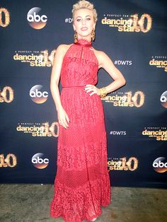Julianne Hough DWTS Photo Diary