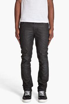 Waxed Nudie Jeans