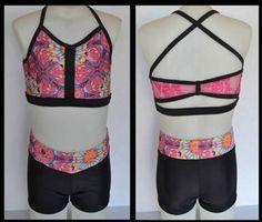Sadie Jane Dancewear - Kaleidoscope Crop Top Set, $54.00 (http://www.sadiejane.com/kaleidoscope-crop-top-set/)