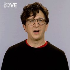 New party member! Tags: netflix nerd love netflix netflix love paul rust love on netflix lovenetflixreactions gus cruikshank awkward is my specialty