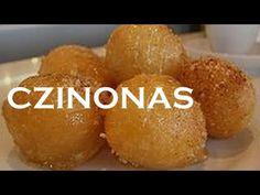 Λουκουμάδες - YouTube Bar, Baked Potato, Muffin, Potatoes, Snacks, Baking, Breakfast, Wedding Pillows, Ethnic Recipes