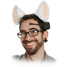 ThinkGeek :: Necomimi Brainwave Cat Ears