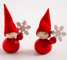 Finnish Joultontu (christmas elves) - love 'em!