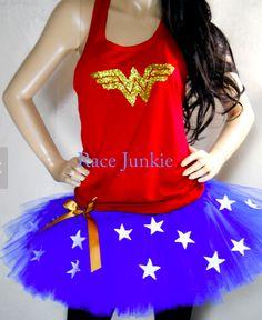 Wonder Woman Tutu & Outfit