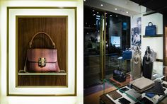 Serapian Milano store by Laboratorio 83, Hong Kong bags