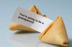 custom fortune cookie pregnancy announcement idea