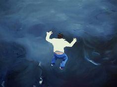 "Saatchi Art Artist Jarek Puczel; Painting, ""Jump"" #art"
