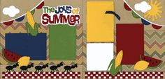 The Joys Of Summer Page Kit