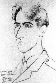 Pablo Picasso, portrait de Jean Cocteau