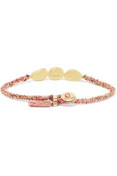 Triple Orbit 18-karat Gold Sapphire Bracelet - one size Brooke Gregson 3erZAtWX