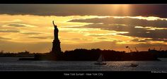 https://flic.kr/p/5n2KAS   New York Sunset - New York City   links to official websites in sebastien mamy's profile  #66 on Flickr Explore (16/09/2008)  New York Sunset  New York City Bay from the Staten Island Ferry - New York City, USA October 2007
