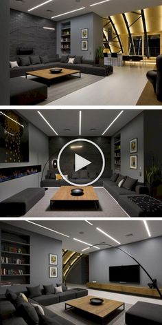 Home theater rooms - 32 Beautiful Natural Living Room Color Ideas You'll Love – Home theater rooms Best Living Room Design, Living Room Colors, Living Room Modern, Living Room Designs, Living Rooms, Cozy Living, Small Living, Clean Living, Bedroom Colors