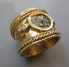 anillo de oro romana, 400 aC