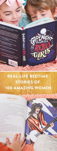 Real-life bedtime stories of 100 amazing women, accompanied by a beautiful illustration of each. These true tales will inspire and uplift kids of any age. Great gifts for young girls.