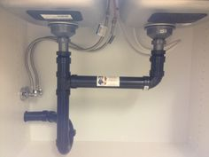 double undermount sink drain installation with dishwasher - Google Search
