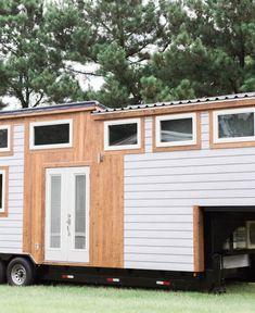 Beautiful 35' Steel framed Gooseneck tiny home