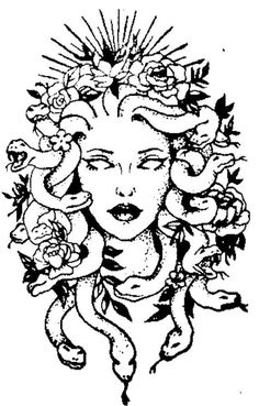 Medusa Tattoo Design, Design Tattoo, Tattoo Designs, Tattoo Sketches, Tattoo Drawings, Art Sketches, Art Drawings, Great Tattoos, Body Art Tattoos