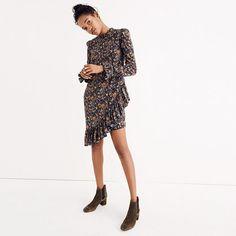 05142f8c15 Karen Walker® Silk Loretta Dress. Madewell DressesSilk DressSilk Floral ...