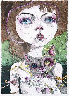 ilustración de Del Kathryn Barton