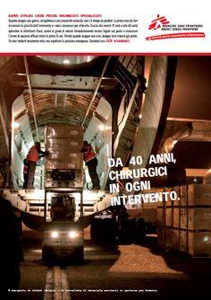 MEDICI SENZA FRONTIERE Institutional campaign (2011). CW: Francesco Trapani/Marco Carnevale. AD: Valentina Raccuia. Creative Director: Marco Carnevale.