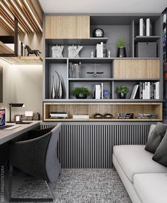 45 Perfect Home Office Space Design Ideas Will Inspire You – Modern Home Office Design Small Space Interior Design, Office Interior Design, Office Interiors, Small Office Design, Luxury Interior, Office Cabin Design, Office Furniture Design, Home Office Setup, Home Office Space
