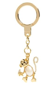 kate spade new york 'crystal monkey' bag charm available at #Nordstrom