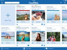 Manage your trips like you never did before