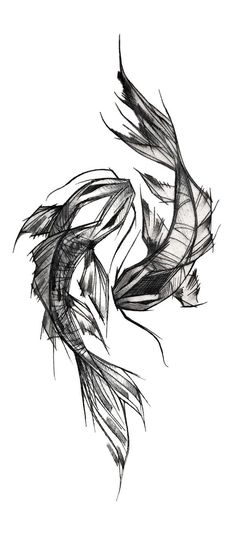 Newest Free of Charge ink drawing fish Tips Learning how to draw along with printer very different from mastering pen drawing. The simple distinction is you can no Art Drawings Sketches, Tattoo Sketches, Animal Drawings, Tattoo Drawings, Body Art Tattoos, Pencil Drawings, Tatoos, Et Tattoo, Tattoo Art