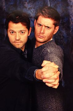 Jensen Ackles and Misha Collins