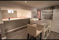 Home Hockey Rink & Entertainment Space | Photos | HGTV Canada unique… Basement Play Area, Low Ceiling Basement, Basement House, Basement Doors, Hockey Room, Woman Cave, Space Photos, Basement Remodeling, Basement Ideas