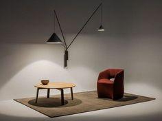 NORTH Lampada da parete by Vibia design Arik Levy