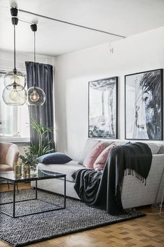 Modern Home Decor Living Room Living Room Paint, Living Room Interior, Home Living Room, Home Interior Design, Living Room Furniture, Living Room Designs, Living Room Decor, Dark Furniture, Furniture Storage