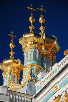 Catherine Palace, Tsarskoye Selo (by Alexander Zelenov)