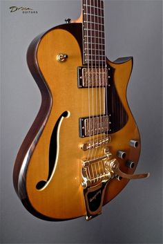 McConnell Electric Guitar. Brazilian Rosewood. BEAUTIFUL