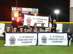 Pearland 9-10-year-olds are state champs
