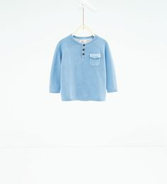 Basic button neck sweater-SWEATERS AND CARDIGANS-BABY BOY   3 months-3 years-KIDS   ZARA United States