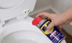 Vaporisez du DW40 dans vos toilettes et observez le résultat, incroyable !