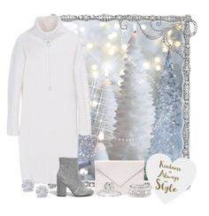 """""""Sparkling snow"""" by joyfulmum ❤ liked on Polyvore featuring Frontgate, DKNY, KC Designs, Verali, Sole Society, Effy Jewelry, River Island and Sixtrees"""