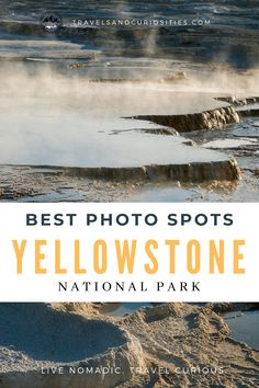 Looking for where to make amazing Yellowstone pictures? Check out our photography guide on the best photo spots in Yellowstone National Park. * Travels and Curiosities is a travel and photography blog sharing unique and curious travel inspirations, photography tips, travel savings strategies, and more! * yellowstone pictures ideas | yellowstone national park photography | best places in yellowstone | yellowstone photography | yellowstone photography landscapes Landscape Photography Tips, Park Photography, Photography Guide, Landscape Photos, Travel Photography, Beginner Photography, Best Travel Guides, National Parks Usa, Travel Inspiration