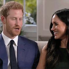 ROYAL BLOOPERS - Outtakes from the engagement interview - Harry and Meghan (2017).