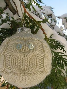 owl ornament (ravelry)