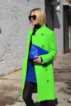 Seahawk fashion.  cobalt blue style and fashion