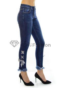 Blugi rupti dama ieftini Skinny Jeans, Pants, Fashion, Trouser Pants, Moda, Fashion Styles, Women's Pants, Women Pants, Fashion Illustrations