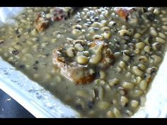 Cooking Soul Food Style Black Eyed Peas - Best you'll ever eat! - I Heart Recipes - YouTube