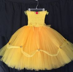 Princess Belle costume princess costume Beauty costume   Etsy