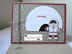 To celebrate the new Seasonal Autumn/Winter Catalogue that launches TOMORROW ! (Please just ask if you'd like a copy) I. Stamped Christmas Cards, Homemade Christmas Cards, Stampin Up Christmas, Christmas Cards To Make, Christmas Greeting Cards, Homemade Cards, Christmas 2016, Stampin Up Cookie Cutter, Origami
