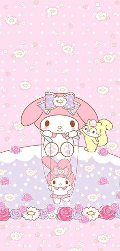 My Melody Wallpaper, Sanrio Wallpaper, Trendy Wallpaper, Kawaii Wallpaper, New Wallpaper, Disney Wallpaper, Hello Kitty Backgrounds, Hello Kitty Wallpaper, Cute Wallpaper Backgrounds