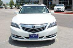 2014 Acura RLX Basew_Tech Base 4dr Sedan w/Technology Package Sedan 4 Doors Bellanova White Pearl for sale in Houston, TX Source: http://www.usedcarsgroup.com/used-acura-for-sale-in-houston-tx