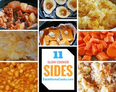 Slow Cooker Sides are perfect for gatherings!